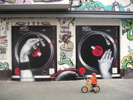 Street Art Graffiti by MTO | Best Bookmarks | Visual Inspiration | Scoop.it