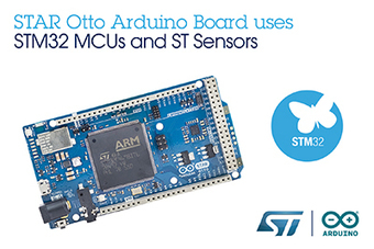 STMicroelectronics and Arduino Launch Cooperation to Expand Maker-Community Access to STM32 MCUs and Sensors | Open Source Hardware News | Scoop.it