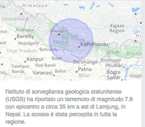 Come rispondono Facebook e Google all'emergenza terremoto | Digital Friday | Scoop.it