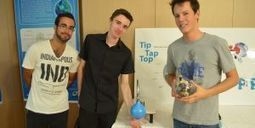 """Tip Tap Top"" : le robinet qui réinvente le lavage des mains 