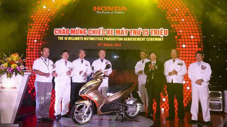 Hai mốc son của Honda Việt  Nam trong tháng 3/2014 | Tin tức ô tô xe máy | Scoop.it