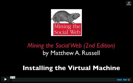 #Mining the Social Web, 2nd-Edition | #datascience #SNA #tools | e-Xploration | Scoop.it