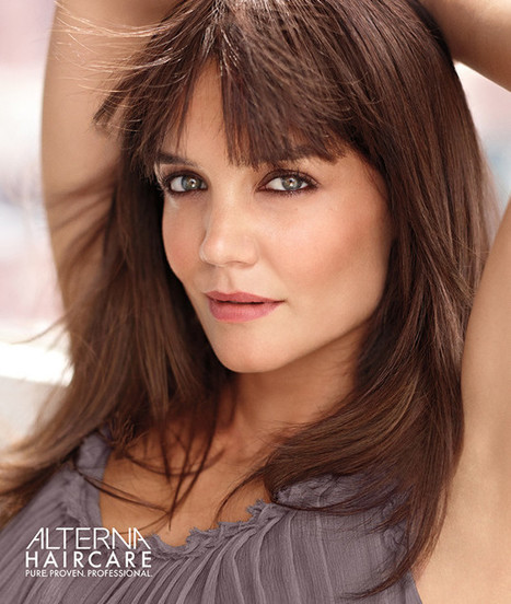 Katie Holmes Looks Smoking Hot in New Alterna Haircare Campaign—Go ... - E! Online | Health and Beauty | Scoop.it