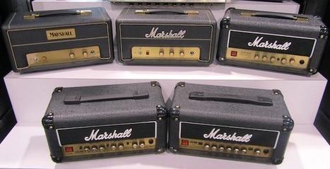 NAMM 2012: Marshall 50th Anniversary 1-watters | Guitar News from NAMM 2012 | Scoop.it