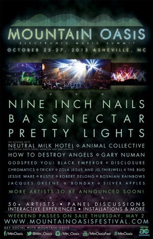 Mountain Oasis Electronic Music Summit Announces 2013 Lineup ... | The Music Electronic | Scoop.it