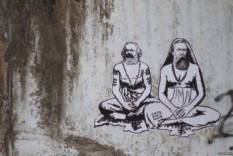 India's 'Banksy' behind provocative graffiti - BBC News | India | Scoop.it