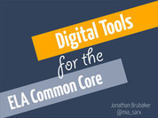 Digital Tools for ELA Common Core Standards | Technology Common Core | Scoop.it