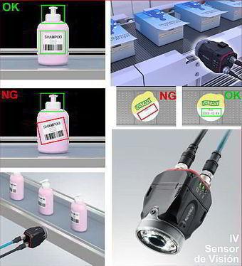 Control de Etiquetado con sensores de visión   Automatizacion   Scoop.it