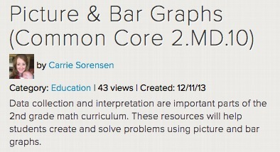 Picture & Bar Graphs (Common Core 2.MD.10) | college and career ready | Scoop.it