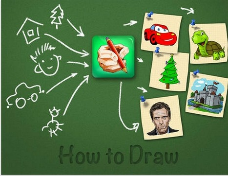 5 Excellent Drawing Apps for Kids ~ Educational Technology and Mobile Learning | Education and Technology | Scoop.it