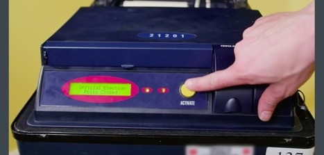 Watch This Guy Hack a Voting Machine | Noticias | Scoop.it
