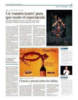 Un 'camión teatro' para que ruede el espectáculo | Festival Internacional Madrid en Danza 2012 | Scoop.it