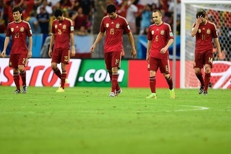 World Cup: The Reign of Spain Ends in Pain - Wall Street Journal | FIFA World Cup Brazil 2014 | Scoop.it