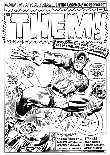 "Classic Cover Recreations | Jack ""King"" Kirby 