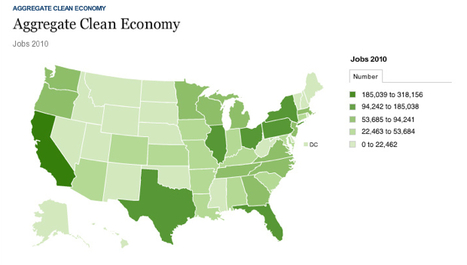 Infographic: Where the green jobs are | SmartPlanet | Metta Practice: Compassion & the Art of Living | Scoop.it