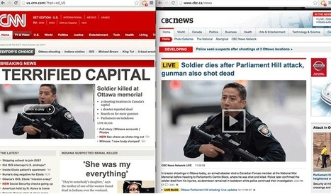 Ottawa Shootings: CNN fear-mongering insulted Canadians | The Canadian Progressive | News and Opinion | Scoop.it