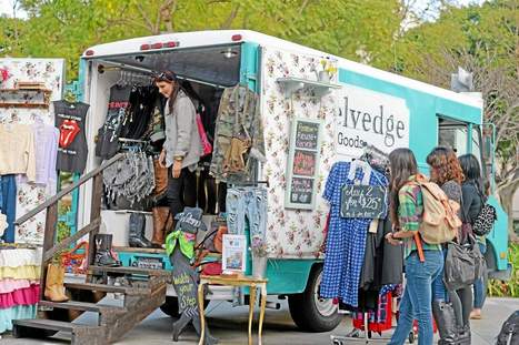 Fashion trucks are driving a new trend into Los Angeles - Long Beach Press-Telegram   Senior Seminar (Fashion Buying and Blogging)   Scoop.it