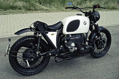 BMW R100/7 SCRAMBLER | BMW Classic | Scoop.it