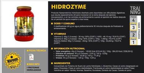 Proteínas Hidrolizadas MTX Nutrition - Busllorente.es | Mobile Apps Design and Development | Scoop.it