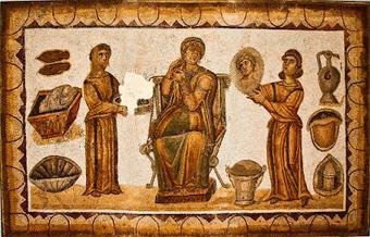 Hortus Hesperidum / Ὁ κῆπος Ἑσπερίδων: Ancillae ab ornamentis | Cultura Clásica | Scoop.it