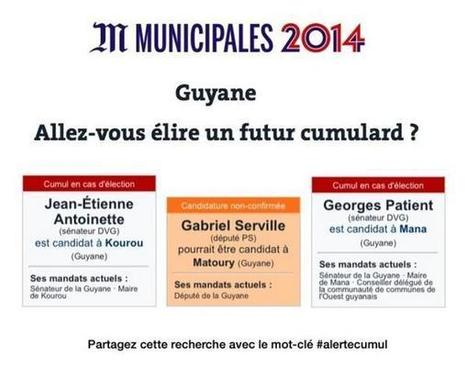 Guyane: Allez-vous élire un futur cumulard? | Vu! By OS973 | Scoop.it