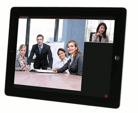 Tablet Videoconferencing Tools: Polycom RealPresence | Distance education | Scoop.it
