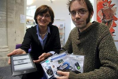 Argentan. Livres numériques et MP3 à la médiathèque | Musique en bibliothèque | Scoop.it