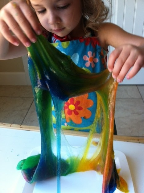How to Make Slime Without Borax or Liquid Starch | Parent Autrement à Tahiti | Scoop.it