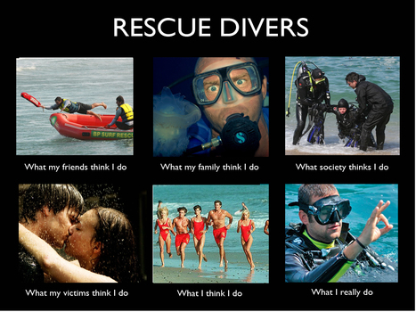 Rescue Divers | What I really do | Scoop.it