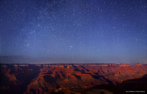 """Stars of the Canyon"" by Wally Pacholka (TWAN) 