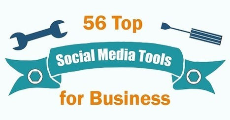 56 Top Social Media Tools for Business [Infographic] | Business Support | Scoop.it