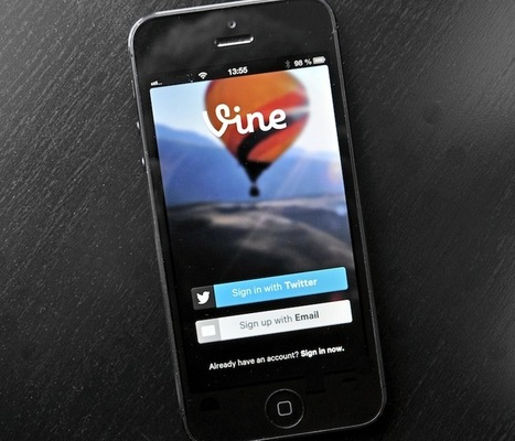 Twitter lance son service de vidéo. Il se nomme Vine. | French Digital News | Scoop.it