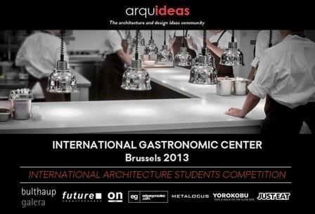Concurso para Estudiantes: Centro Gastronómico Internacional | The Architecture of the City | Scoop.it