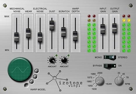 iZotope Vinyl: Free Lo-Fi Plug-in | Free VST, AU Plug-in | DIY Music & electronics | Scoop.it