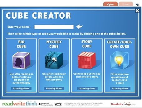 Cube Creator - writing prompts and story generator | Instructional Technology Tools | Scoop.it