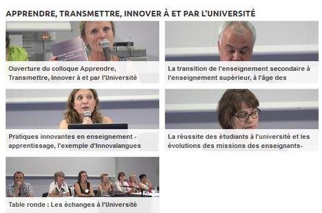 Podcast Colloque ATIU: Apprendre, transmettre, Innover, Université Paul-Valéry Montpellier 3 | Colloques, conférences & publications | Scoop.it