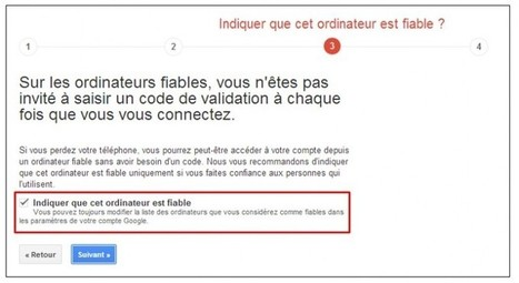 Sécuriser son compte Google avec la validation en 2 étapes | TICE, Web 2.0, logiciels libres | Scoop.it