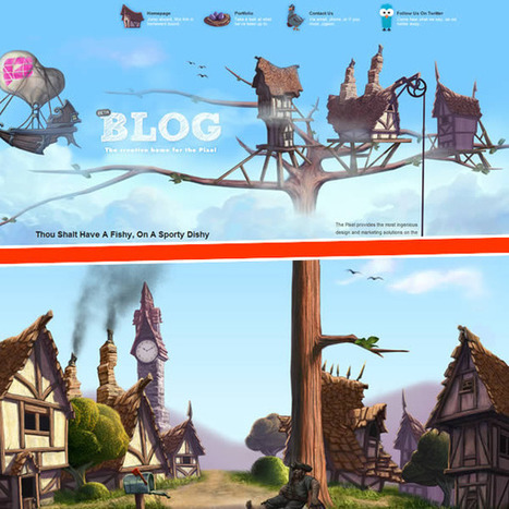 20 Creative Combinations of Header + Footer In Web Design | Android News | timms brand design | Scoop.it