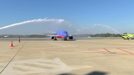 Southwest Airlines' first flight arrives in Memphis - WMC-TV | Elvis Tribute News | Scoop.it