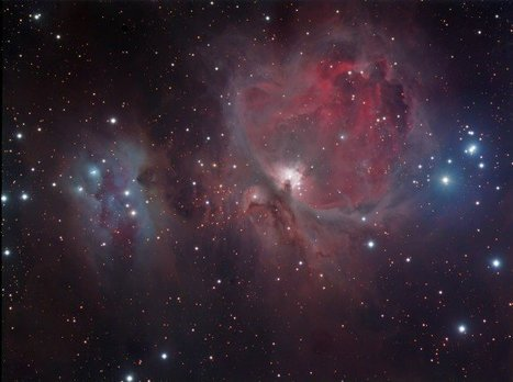 Astrophoto: The Orion Nebula by Martin Meupelenberg | Planets, Stars, rockets and Space | Scoop.it