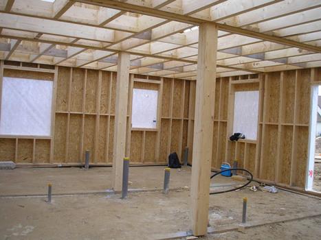une construction ossature bois pour une bonne régulation de la température intérieure   habitat bois   Scoop.it