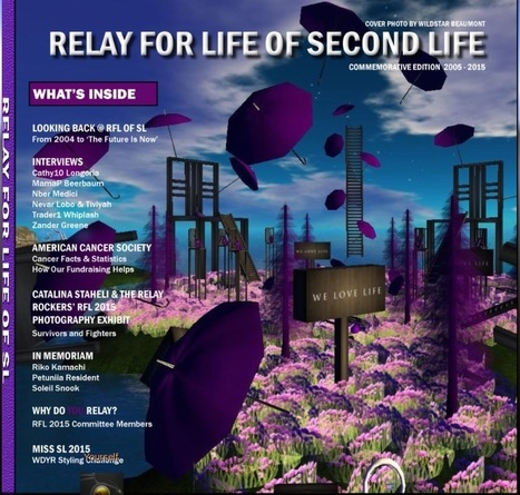 #secondlife, #virtualworlds Do not forget to grab... - Relay For Life of Second Life | Second Life | Scoop.it