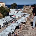 Aanval op vluchtelingenkamp Chios   Griekenland   Scoop.it