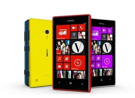 Nokia Lumia 720 and 520 announced; Specs and Price | WorldGeek | Scoop.it