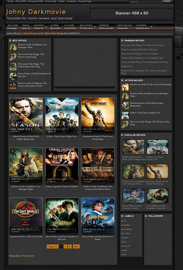 Top 10 Movie Templates For Blogger Free Download | Best Free Premium Blogger Templates SEO Friendly, WordPress, Website 2013 | Themes All Free Download | ads-blogspot-com-2013-06-2013-cnebac2013taalim | Scoop.it