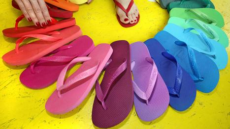 Havaianas : La tong est devenue un accessoire de mode - France Info | Le monde de la chaussure.Cap-k, des chaussures pour le dos. | Scoop.it