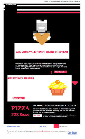Love how Pizza Express have used the text version of this email to get their message across   Market to real people   Scoop.it