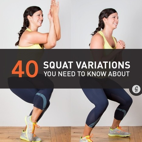 40 Squat Variations You Need to Try | Exercise: MOVE More! | Scoop.it