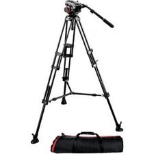 Best Manfrotto 504HD Head w/546B 2-Stage Aluminum Tripod System | Camera Lens & Tripods | Scoop.it