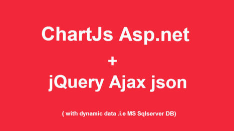 Create Pie chart with database jQuery Ajax C# - Codepedia | Business | Scoop.it